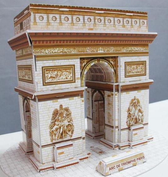 3 d puzle-trijumfalna-kapija