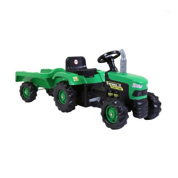Traktor na pedale sa prikolicom